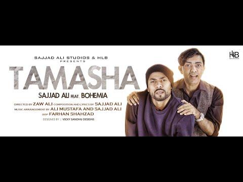 Tamasha Lyrics - Sajjad Ali | Bohemia