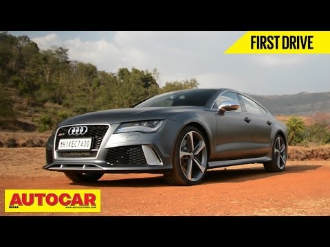 Audi RS7 In India | First Drive Video Review