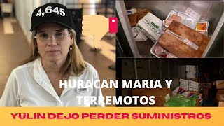 Carmen Yulin dejo expirar suministros para Huracan Maria y terremotos.