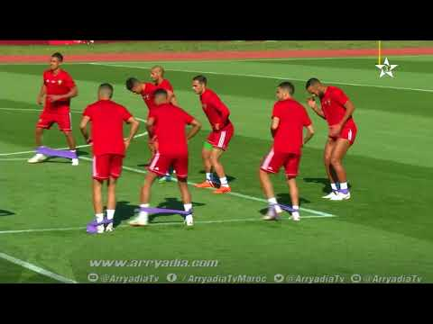المنتخب الوطني المغربي يواصل تحضيراته لمواجهة البرتغال