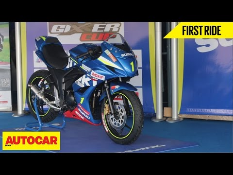 Suzuki Gixxer Cup SF | First Ride | Autocar India