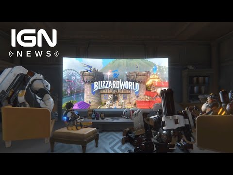 connectYoutube - Overwatch's Blizzard World Map Release Date Announced - IGN News