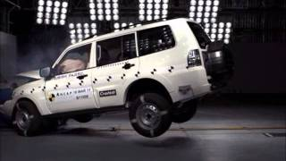 Mitsubishi Pajero 2011 Crash Test