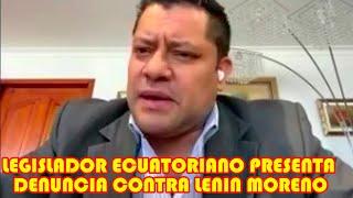 LEGISLADOR ECUATORIANO FAUSTO JARRIN D3NUNCIA A LENIN MORENO POR PRESTAR ARM4S BOLIVIA..
