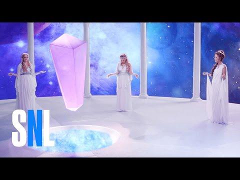 connectYoutube - Cut for Time: Goddesses of Creation (Kristen Wiig) - SNL