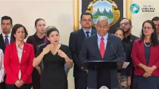 Renuncia de Víctor Morales como Ministro de la Presidencia