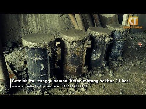 Cara Membuat Benda Uji Beton Silinder