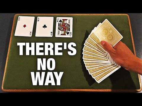IMPRESS EVERYONE With This Insane Card Trick!