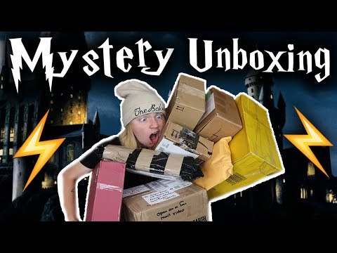 MYSTERY HARRY POTTER UNBOXING! #2