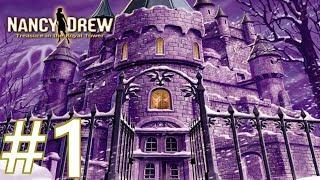 Nancy Drew: Treasure in the Royal Tower Walkthrough part 1