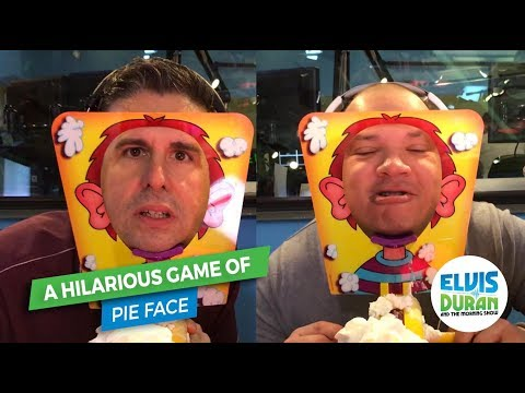 connectYoutube - A Hilarious Game of Pie Face   Elvis Duran Exclusive
