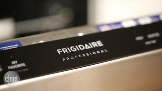 Try as it might, this Frigidaire dishwasher can't keep food down