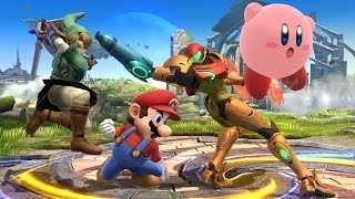Samus Lays The Smack Down in Smash Bros - Comic Con 2014