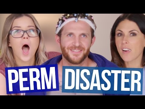 At Home Perm DISASTER!! (Beauty Break)