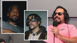 Colaboracion de Bad Bunny y Kanye West