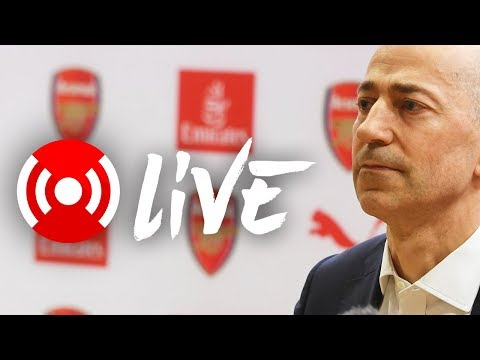 LIVE: Ivan Gazidis on Arsene Wenger announcement