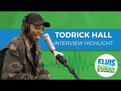 connectYoutube - Todrick Hall on Upcoming Rent Live | Elvis Duran Interview Highlight