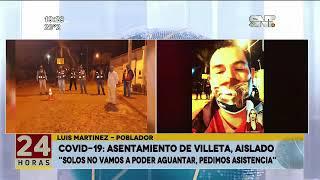 COVID-19: 470 familias aisladas en Villeta