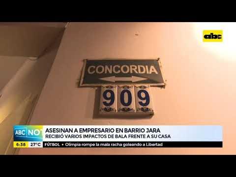 Asesinan a empresario en el Barrio Jara de Asunción