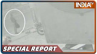 कैमेरे पर मोस्ट-वांटेड गैंगस्टर: Faridabad के होटल में दिखा Vikas Dubey, पुलिस ने किया तलाशी तेज़ - INDIATV