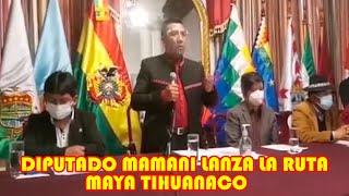 LANZAN LA RUTA MAYA TIHUANACO EN D3FENSA DE LA MADRE TIERRA PARA EL 2023 DESDE MÉXICO HASTA BOLIVIA.