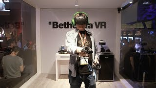 Hands-On with VR at E3: Doom VFR, Fallout 4, Skyrim, Gunheart!