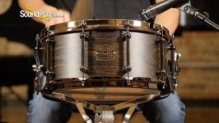 Metro Drums 6.5x14 Queensland Walnut Ply Snare Drum Kingwood—Quick 'n' Dirty