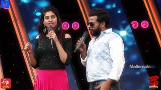 Hyper Aadi Hilarious Punches on Varshini - Dhee Champions (#Dhee12) - 30th September 2020 - MALLEMALATV