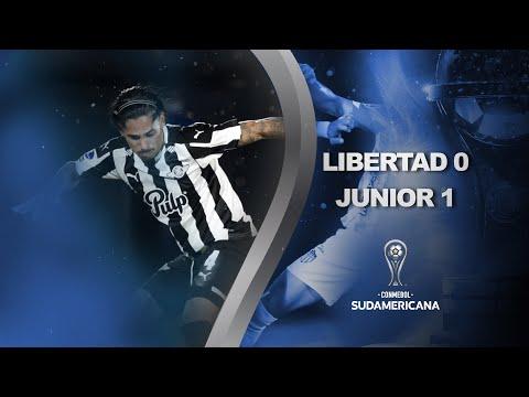 Libertad vs. Junior [0-1]   RESUMEN   Octavos de Final   Vuelta   CONMEBOL Sudamericana 2021