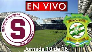 Donde ver Saprissa vs. Limón en vivo, por la Jornada 10 de 16, Liga Costa Rica