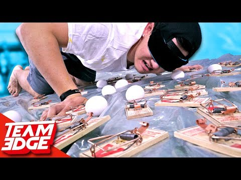 Blind Mouse Trap Minefield Challenge!!