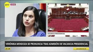 """Verónika Mendoza: """"No es momento de una vacancia presidencial"""""""