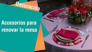 Una mesa agradable y original para cualquier ocasión | Decoración