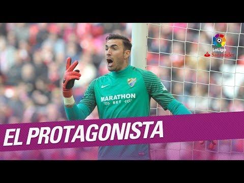 El Protagonista: Roberto Jiménez, jugador del Málaga CF