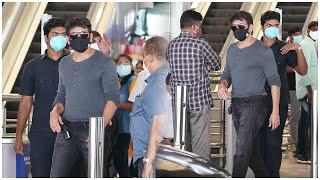 Akkineni Nagarjuna EXCLUSIVE Visuals At Hyderabad Airport | Celebrities Airport Videos | TFPC - TFPC