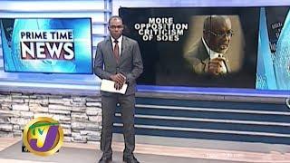 TVJ News: More Opposition Criticism Of SOE's - December 20 2019
