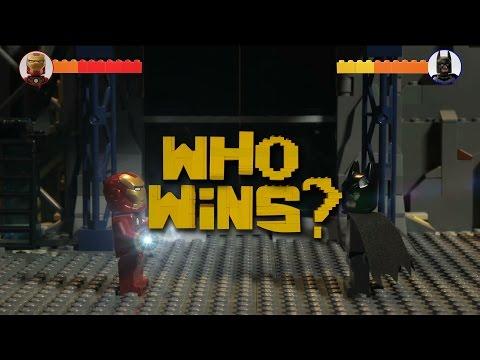 LEGO MARVEL VS DC - MARVEL WINS