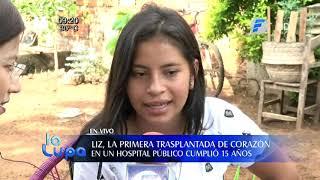 Primera trasplantada de corazón en Hospital Público cumple 15 años