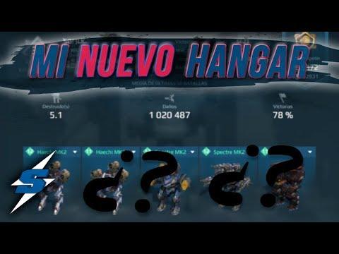 MI NUEVO HANGAR | SORILOKO War Robots