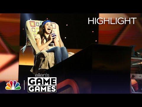 Ellen's Game of Games - In Your Face, Honey: Episode 4 (Highlight)