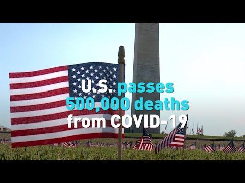 U.S. reaches grim milestone with 500,000 COVID-19 deaths