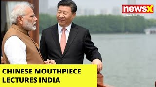 After Crushing Tibet for Years | Chinese Mouthpiece Lectures India | NewsX - NEWSXLIVE