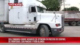 Transportistas centroamericanos aplican medidas recíprocas a Costa Rica - Nicaragua