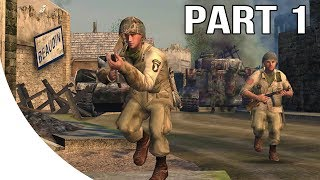Call of Duty 1 Gameplay Walkthrough Part 1 - American Campaign - 101st Airborne