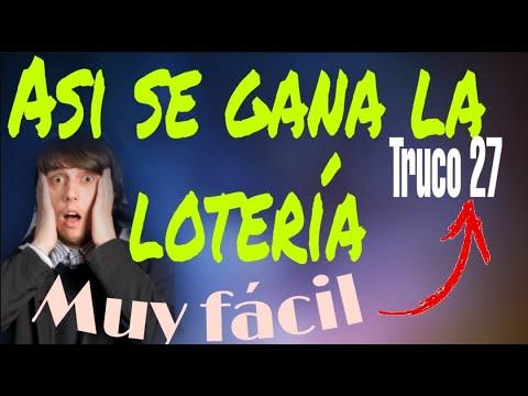 Truco 27 lolo Ramírez ganar la loteria facil