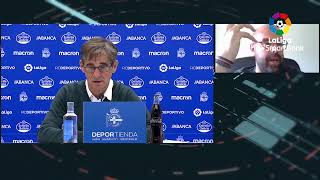 Rueda de prensa RC Deportivo vs SD Huesca