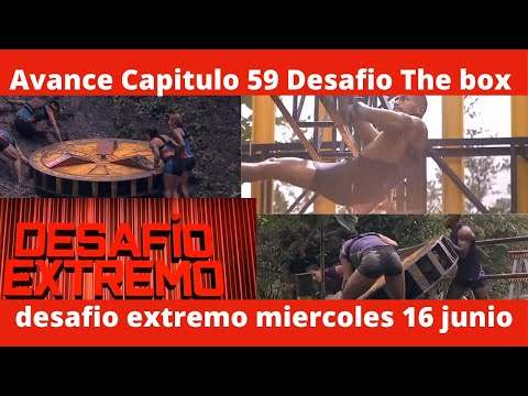AVANCE CAPITULO 59 DESAFIO THE BOX - Avance Desafio The Box Capitulo 59