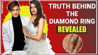 The real story behind the diamond ring REVEALED | Details inside | Himanshi Khurana | Asim Riaz | - TELLYCHAKKAR