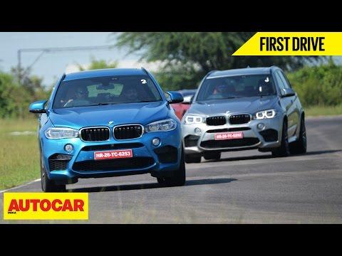BMW X5 M & BMW X6 M | First Drive | Autocar India