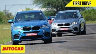 BMW X6 M & BMW X5 M | First Drive | Autocar India